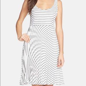 BB DAKOTA Pleated Skirt Dress